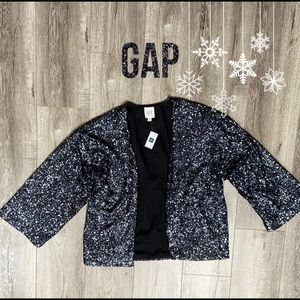 NWT GAP Sequin Jacket